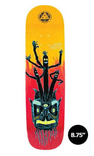 【WELCOME skateboards】Jordan Sanchez BALLOON BOYS gradient stains NIBIRU 【ウェルカム】【スケートボード】【デッキ】【8.75インチ】選べる無料のデッキテープ付き!