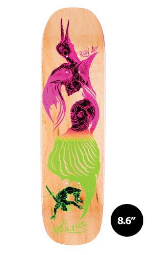 【WELCOME skateboards】Ryan Lay ISOBEL natural STONECIPHER 【ウェルカム】【スケートボード】【デッキ】【8.6インチ】選べる無料のデッキテープ付き!