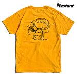 【instant】Mark Gonzales TEE カラー:gold インスタント マーク・ゴンザレス ゴンズ Tシャツ 半袖 スケートボード スケボー SKATEBOARD