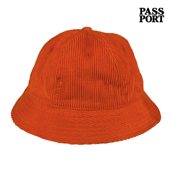 【PASSPORT】WORKERS CORD BUCKET カラー:corduary 【パスポート】【スケートボード】【帽子/ハット】