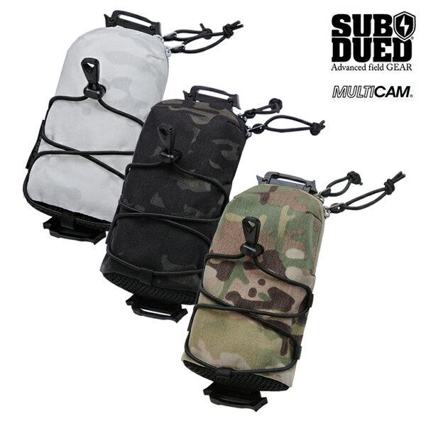 【SUBDUED】DIVICE POUCH カラー:multicam / multicam black / multicam alpine 【サブデュード】【スケートボード】【小物/バッグ】