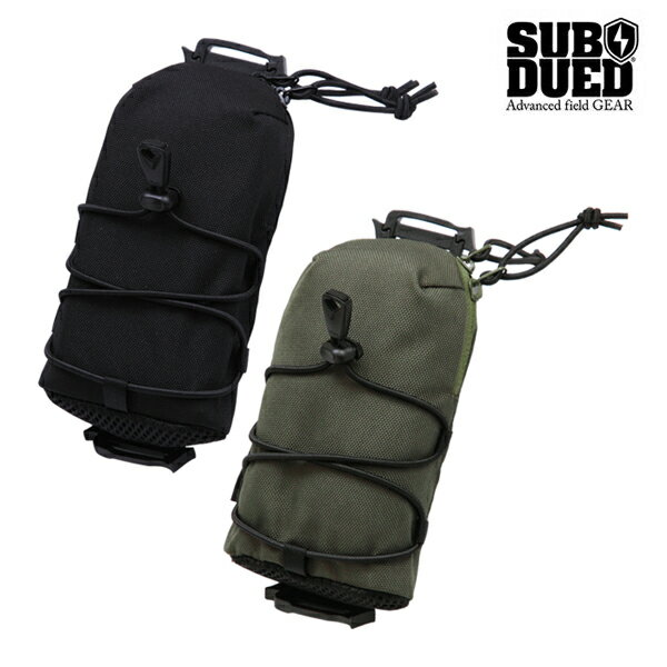 【SUBDUED】DIVICE POUCH カラー:black / olive 【サブデュード】【スケートボード】【小物/バッグ】