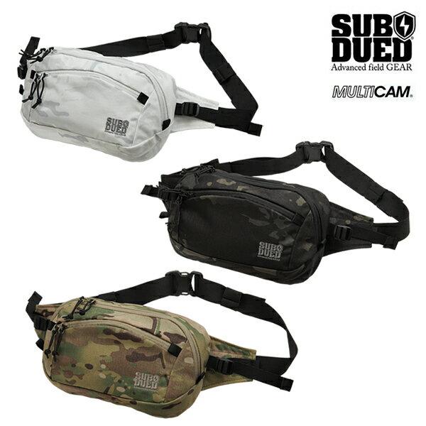 【SUBDUED】ABALONE POUCH カラー:multicam / multicam black / multicam alpine 【サブデュード】【スケートボード】【小物/バッグ】