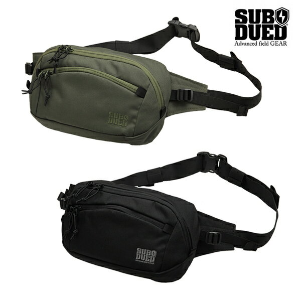 【SUBDUED】ABALONE POUCH カラー:black / olive 【サブデュード】【スケートボード】【小物/バッグ】