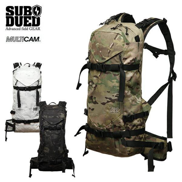 【SUBDUED】REAPER BACKPACK カラー:multicam / multicam black / multicam alpine 【サブデュード】【スケートボード】【バッグ】