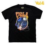 【VOLUME4】PLANETRARY CARABAN カラー:black/orange 【ボリュームフォー】【スケートボード】【Tシャツ】