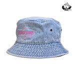 【WACKWACK】Bucket Hat カラー:light denim ワックワック 帽子 ハット スケートボード スケボー SKATEBOARD