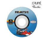 【CRUPIE×PRIMITIVE】CARLOS RIBEIRO サイズ:52mm クルーピー プリミティブ ウィール WHEEL スケートボード スケボー SKATEBOARD