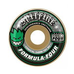 【SPITFIRE】FORMULA FOUR 101DU CONICAL -green- サイズ:52/53/54mm 【スピットファイアー】【スケートボード】【ウィール】