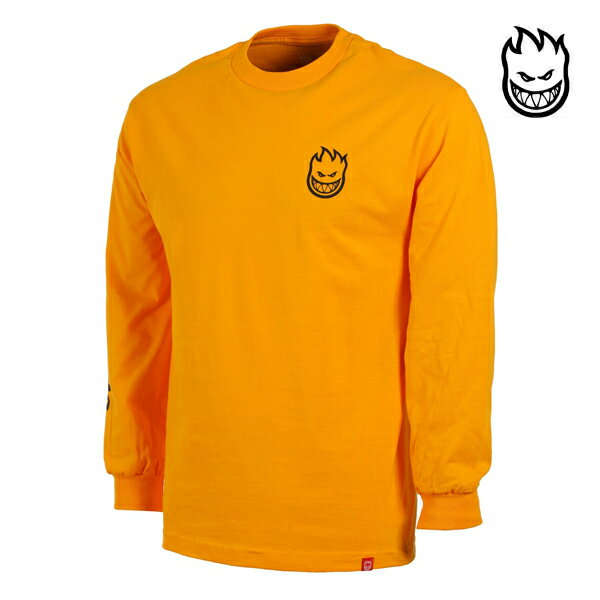 【SPITFIRE】SPITFIRE LIL BIGHEAD HOMBRE L/S TEE カラー:gold 【スピットファイアー】【スケートボード】【Tシャツ/長袖】