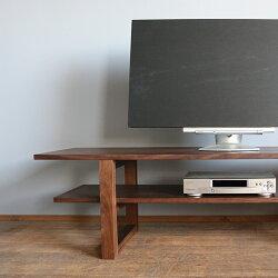 無垢材のスタイリッシュな男前テレビボード