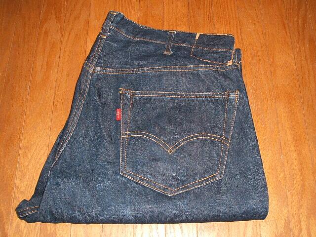 LEVIS(リーバイス) 501XX 1960年代 実物ビンテージ 隠しリベット付き ビッグサイズ W40×L25:INSTINCT Used&Vintage Clothing