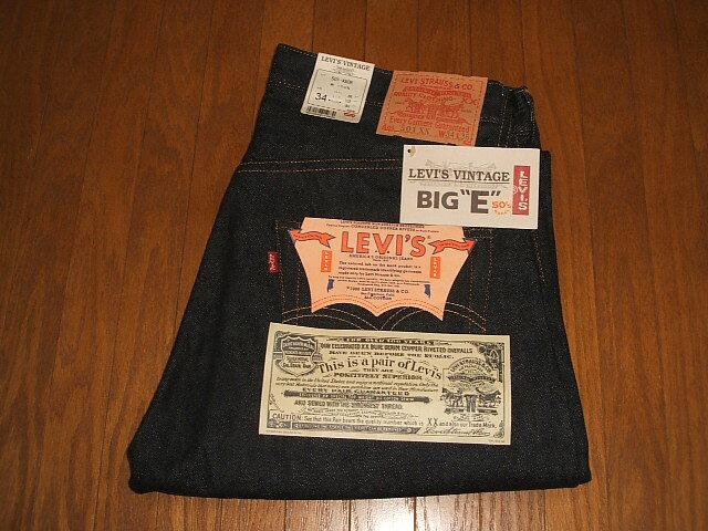 LEVIS(リーバイス) 501XX 1955年モデル トップボタン裏555 バレンシア工場製 復刻版 MADE IN USA(アメリカ製) W36×L36 デッドストック:INSTINCT Used&Vintage Clothing