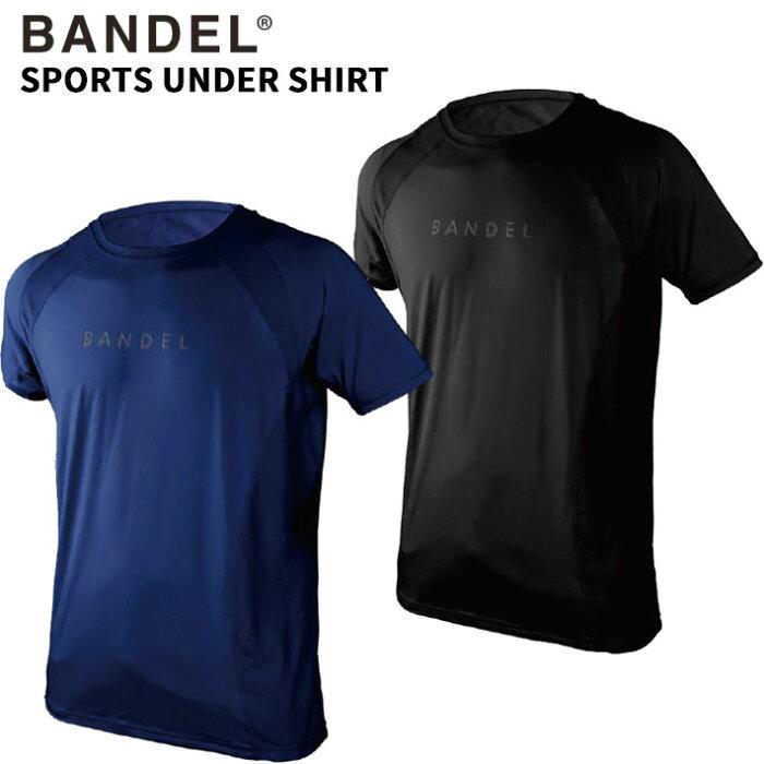 【着後レビューでBANDELグッズ!】BANDEL バンデル SPORTS UNDERSHIRT スポーツアンダーシャツ BAN-BS001 ブラック ネイビー トレーニング アスリート バランス 父の日 ギフト