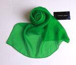 上質シルクライトグリーンスカーフ