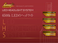 H4ハイロー切り替えLEDヘッドライト【送料無料】LEDHEADLIGHTSYSTEM H4HLモデル LHS04