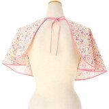 【化粧ケープ】【おしゃれ】化粧ケープ 花柄 ピンク