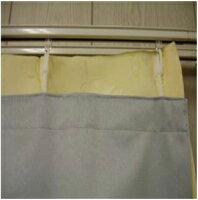 カーテン 遮光性ライナー(巾100×丈135cm用)