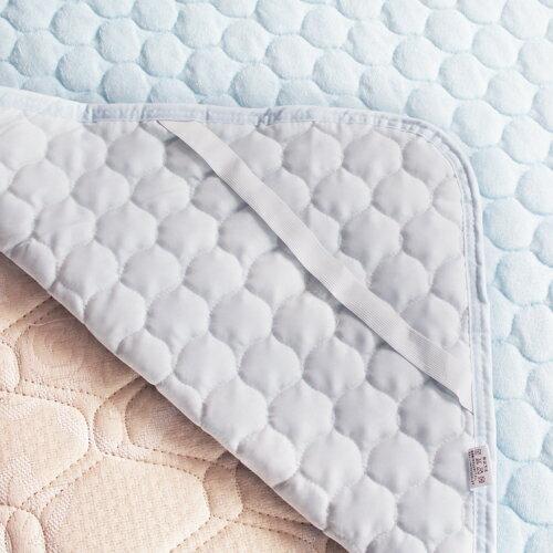 綿素材やわらかパイルタオル地敷きパッドシーツセミダブルサイズ【あす楽対応_関東】