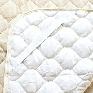 京都西川綿100%綿やわらか敷きパットシーツシングルサイズ【送料無料】あす楽オールシーズン快適敷きパッド冬用敷きパッドふんわり敷きパッド