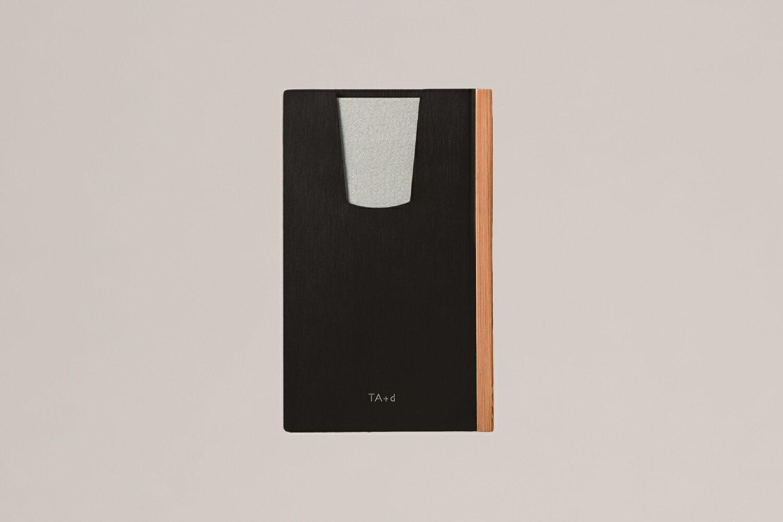台湾 デザイナーブランド トレアジアデザイン「TA+d」バンブーカードホルダー(ブラック)