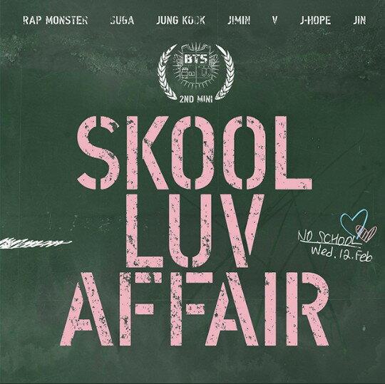 韓国コスメ, スキンケア BTS - SKOOL LUV AFFAIR (2nd Mini Album) CD