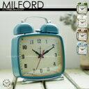 MILFORD [ ミルフォード ]■ 目覚まし時計 | 置時計 【 インターフォルム 】