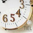 TIEL[ティール]■電波時計|壁掛け時計【インターフォルム】