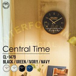 CentralTime[セントラルタイム]■電波時計 壁掛け時計【インターフォルム】