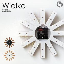 Wielko[ヴィエルコ]壁掛け時計■時計 壁時計 掛け時計【インターフォルム】