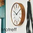 Motreff[モトレフ]壁掛け時計■電波時計|壁時計|掛け時計【インターフォルム】