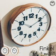 Finkel[フィンケル]壁掛け時計■掛け時計|電波時計|壁時計【インターフォルム】