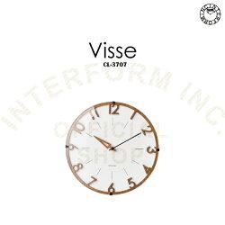 Visse[フィッセ]壁掛け時計■掛け時計 電波時計 壁時計【インターフォルム】