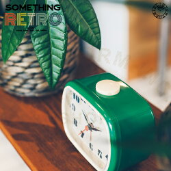 SomethingRetro[サムシングレトロ]目覚し時計■置き時計【インターフォルム】