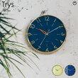 Trys[トゥリス]壁掛け時計■電波時計|壁時計|掛け時計【インターフォルム】