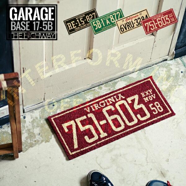 Garage [ ガレージ ] コイヤーマット ■ 玄関マット | コイヤマット 【 インターフォルム 】