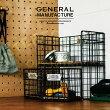 GeneralManufacture[ジェネラルマニュファクチャ]ワイヤーシェルフ■シェルフ|かご【インターフォルム】