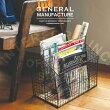 GeneralManufacture[ジェネラルマニュファクチャ]ワイヤーラック■マガジンラック|バスケット【インターフォルム】