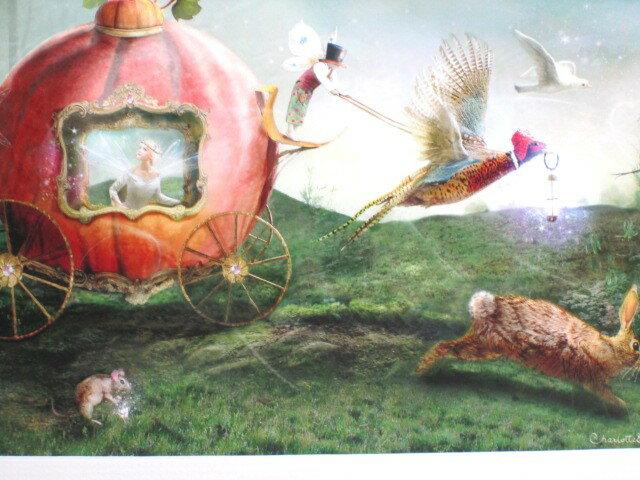 シャーロット・バード フォトグラフ【ムーンライトパレード】妖精の写真家 Charlotte Bird フォトグラフ 妖精の写真 アート 妖精 フェアリー 天使 エンジェル インテリア