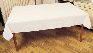 綿無地 オフホワイト ダークピンク イエロー ブルー テーブルクロス 4尺用(120cm×150cm) ビニールカバー付 日本製 弱はっ水加工 テーブルカバー 綿100% 受注生産