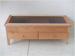 アクセサリーケース木製ジュエリーケースガラスケースコレクションケース北欧ジュエリーボックスジュエリー収納アクセサリー収納送料無料通販【ken】【smtb-f】