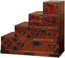 日本製 階段箪笥 W930×D410×H800mm【送料無料・開梱設置無料】