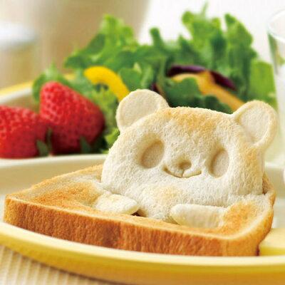 【ポイント最大5倍】食パン1枚で可愛いトーストのできあがり♪ キャラ弁 食パン 抜き型食パン抜...