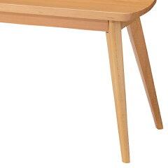 ベンチ長椅子2人掛けロッキ天然木製
