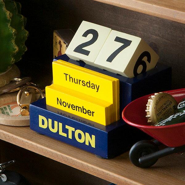 卓上カレンダー ダルトン DULTON デスクトップカレンダー ( カレンダー 木製 文房具 文具 おしゃれ オシャレ 木 万年カレンダー )【5000円以上送料無料】
