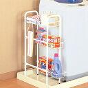 洗濯機サイドラック ランドリーラック 引出し棚 ( 収納棚 整理棚 ランドリー収納 隙間収納 すきま収納 キッチン )