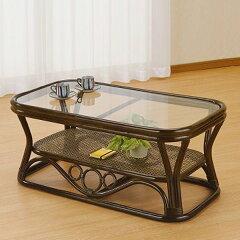 籐(ラタン)テーブル【T46B】
