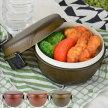 お弁当箱ランチボウルWoody樹脂製木製風軽くて割れにくいレンジ対応食洗機対応