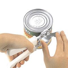 【ポイント最大31倍】握りが手にやさしくて軽い力で開けられる缶切り 栓抜き 缶切 缶オープナー...