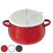天ぷら鍋ホーロー鍋プチクック16cm1人用ひとり鍋IH対応